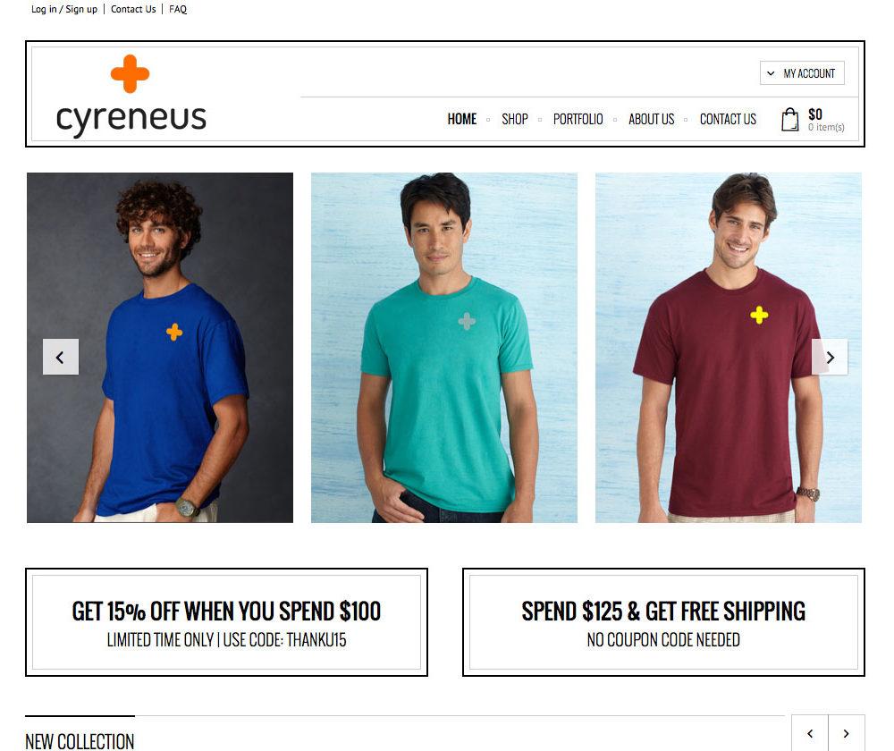 Apparel eCommerce Site