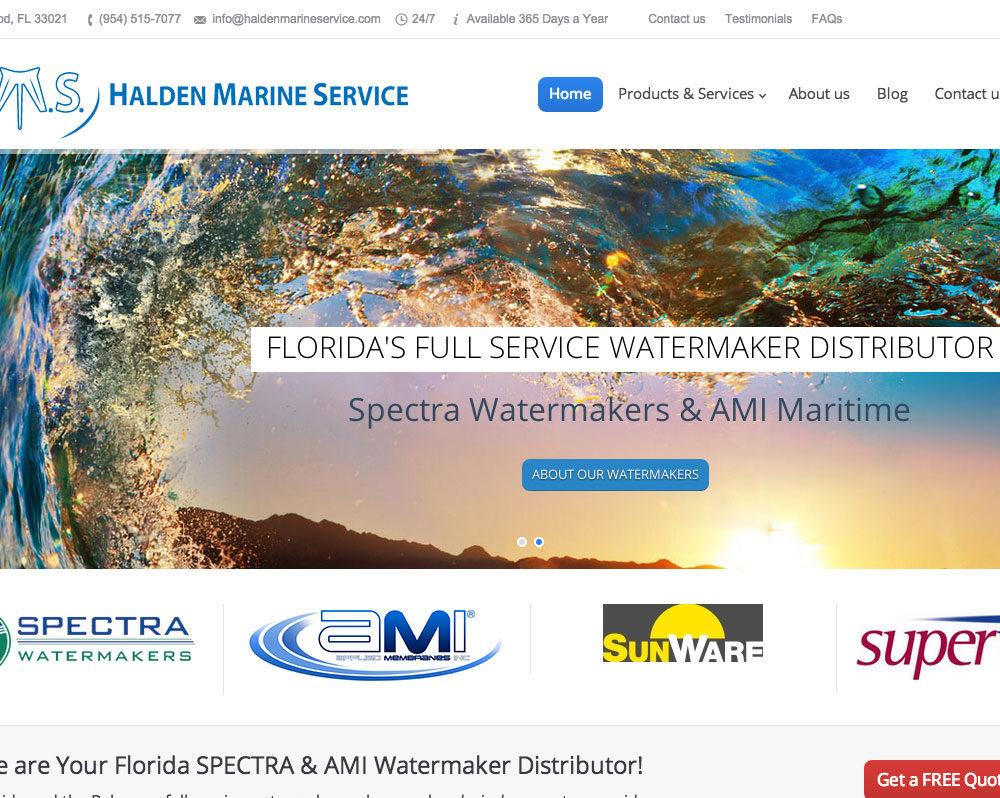 Service Industry Website