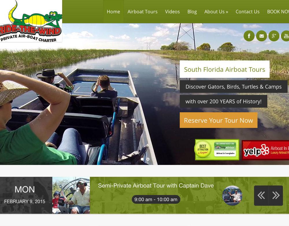 Outdoor Adventure Website